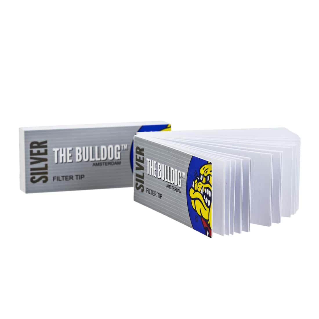 Photo #1 de Filtres en carton The Bulldog perforés x 10