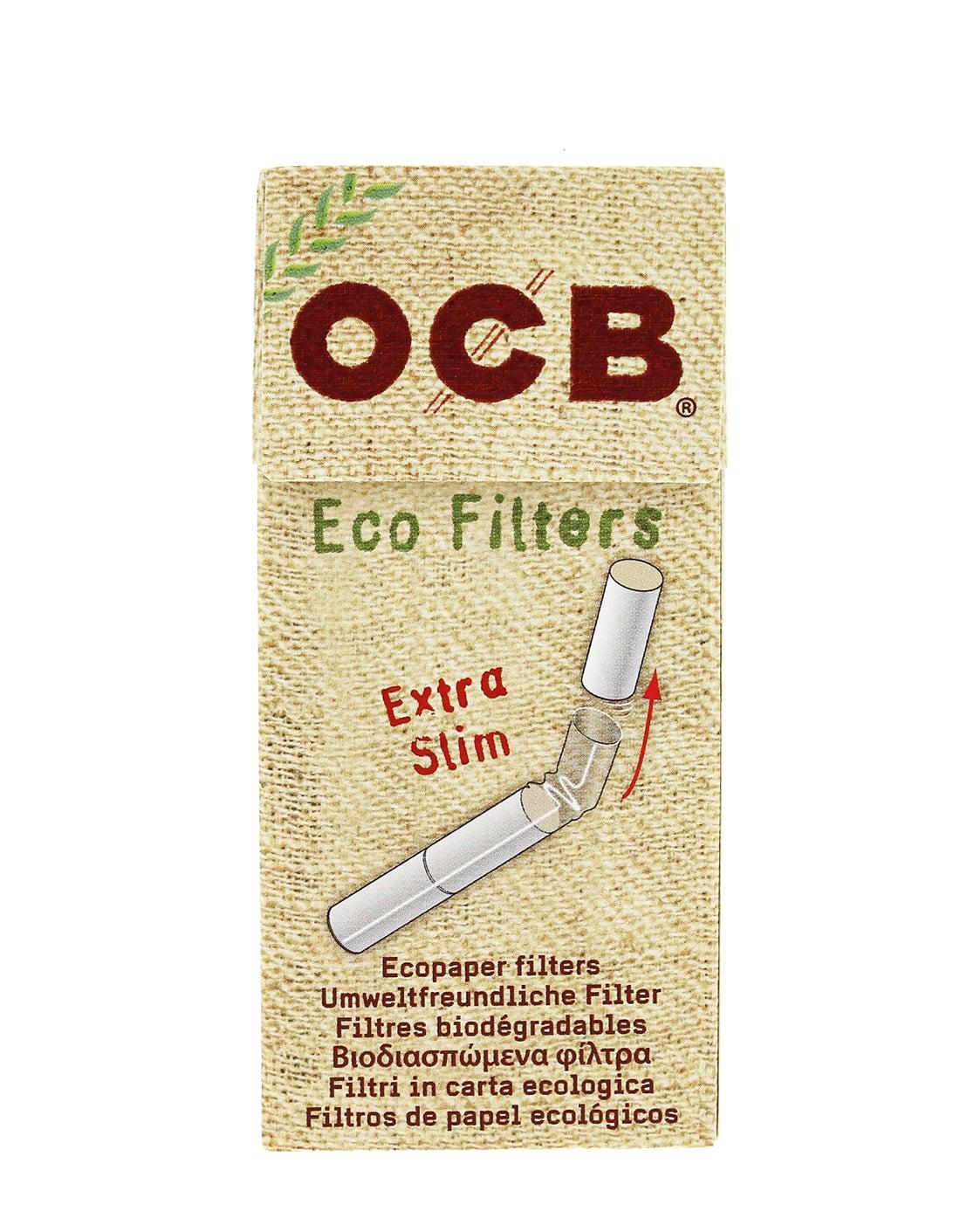 Photo #3 de Filtres OCB Chanvre Bio Extra Slim en stick x20