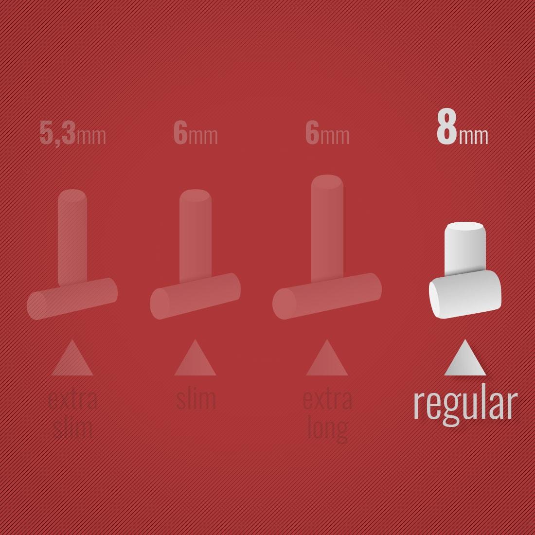 Photo #1 de Filtres Rizla + Regular x1 boite