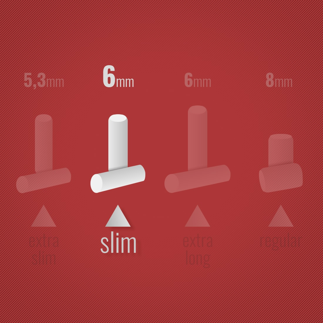 Photo #1 de Filtres Rizla + Slim x 10 sachets