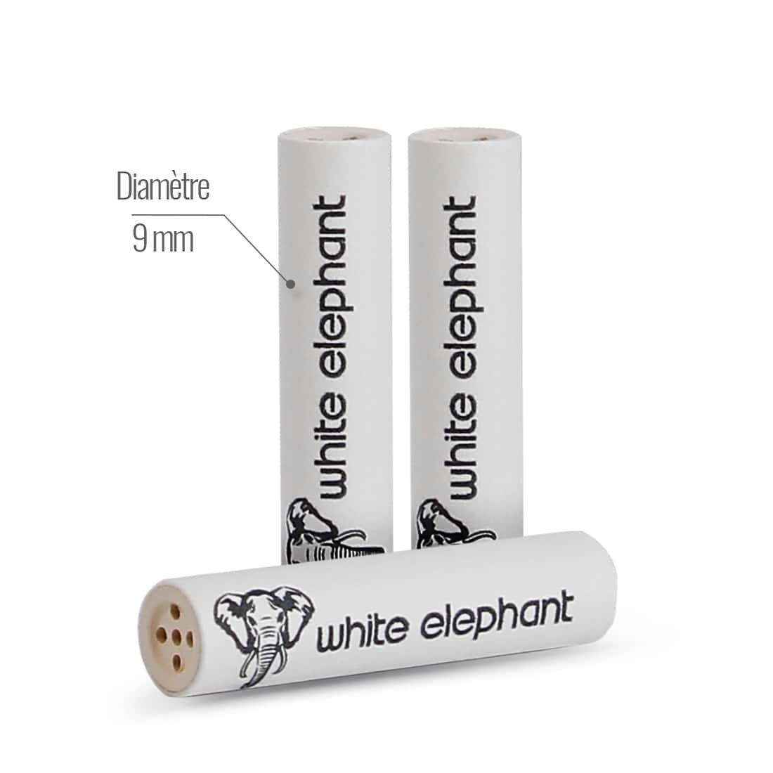 Photo #2 de Filtres White Elephant 9 mm x 40