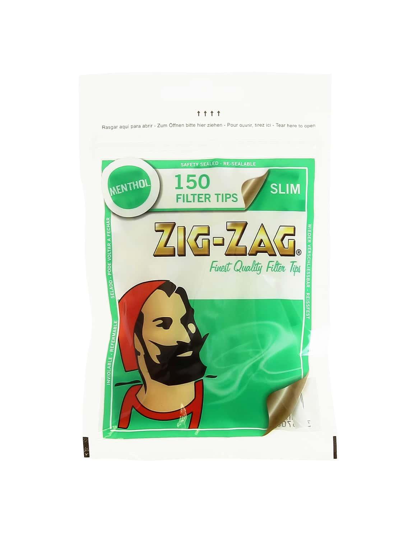 Photo #1 de Filtres Zig Zag Slim Menthol x 10