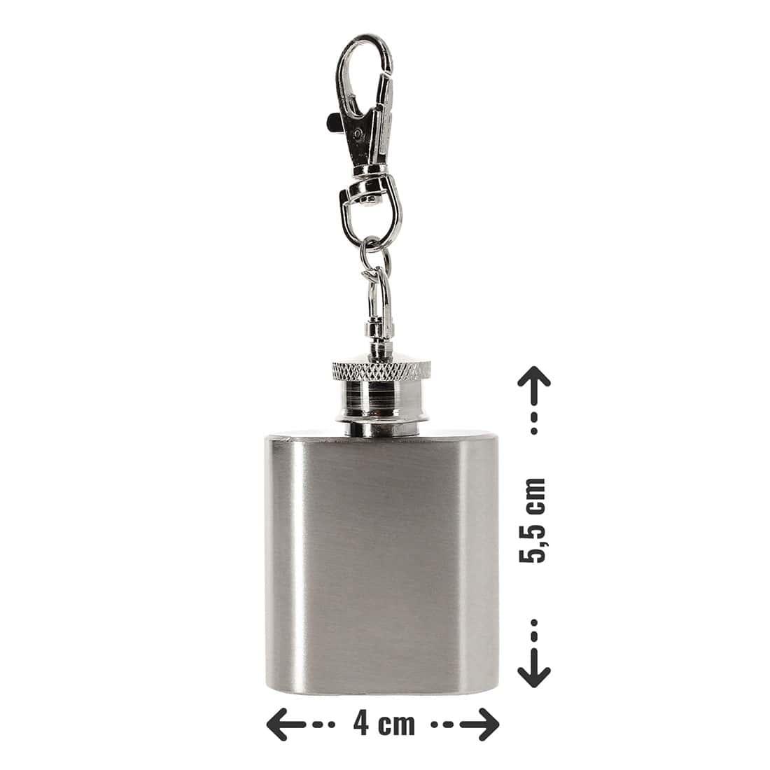 Photo #1 de Flasque à alcool porte clé