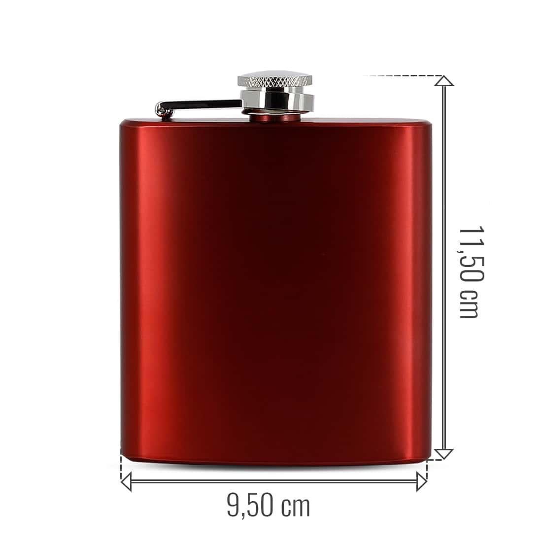 Photo #1 de Flasque Alcool Rouge