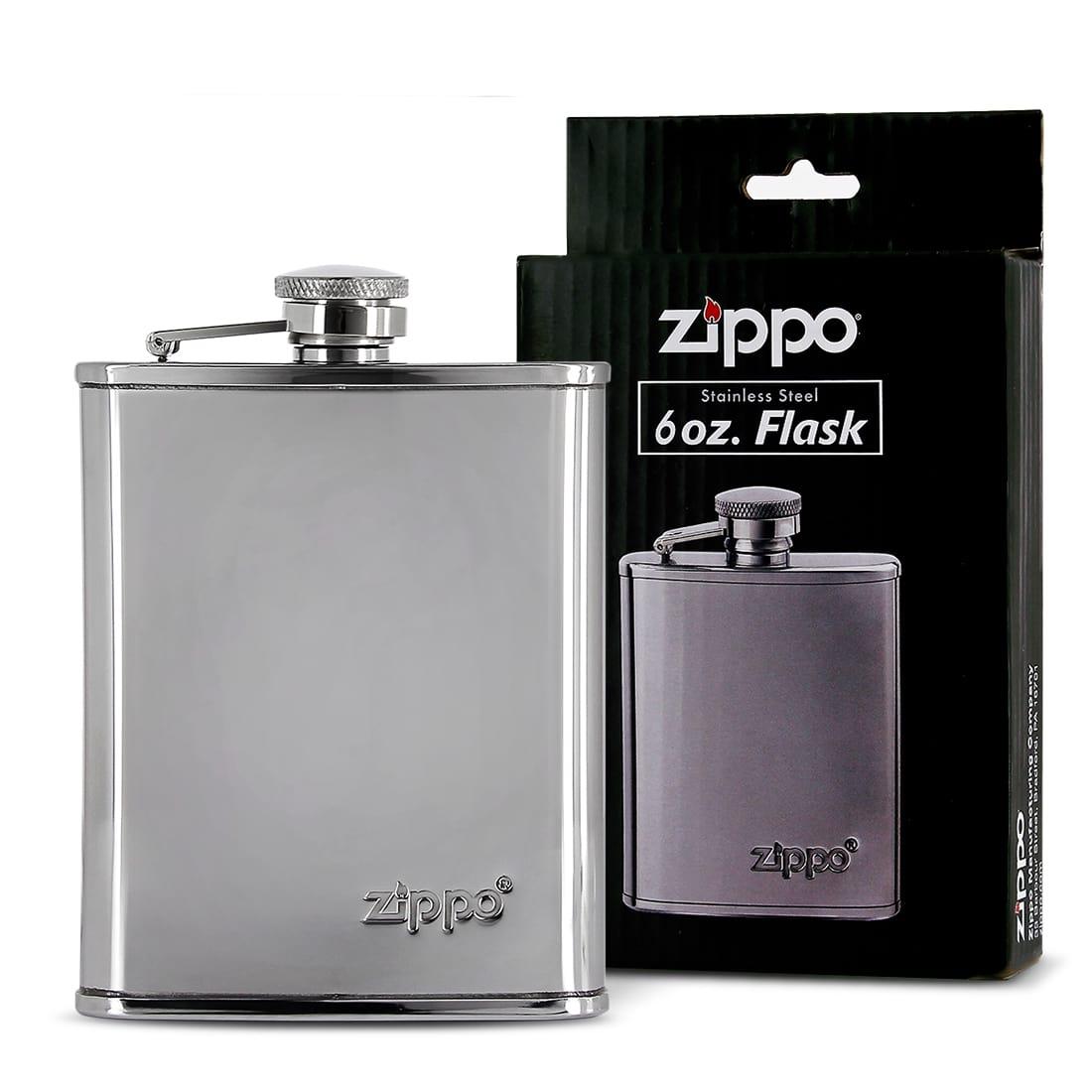 Photo #2 de Flasque Alcool Zippo Chromée