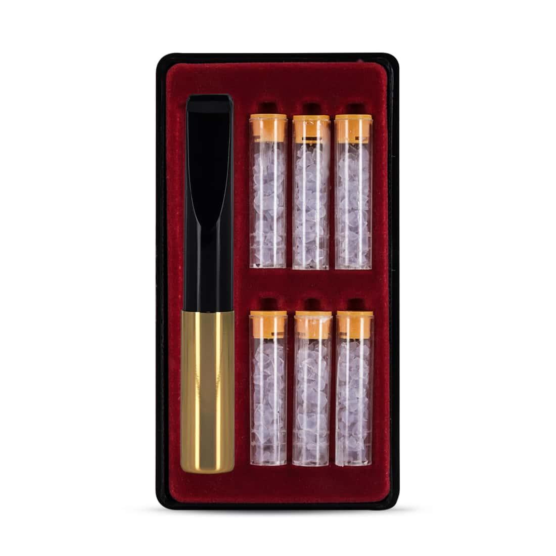 Photo #3 de Fume cigarettes FIBAM doré