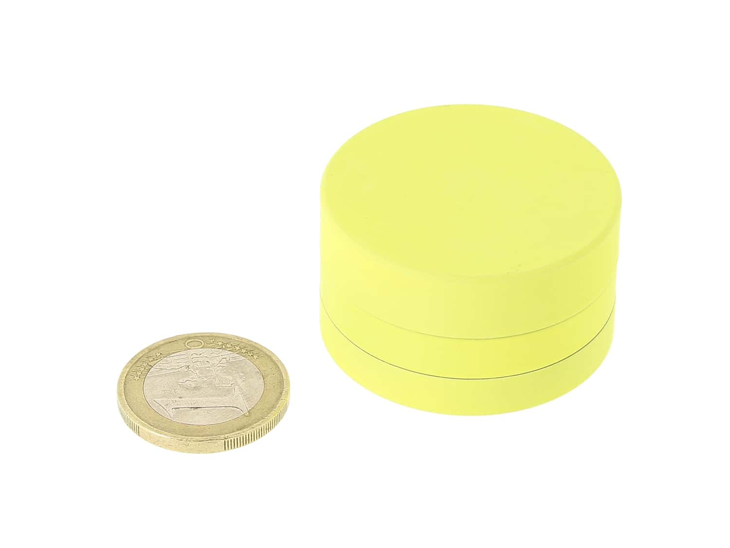 Photo #1 de Grinder Jaune Soft Touch 3 parties 40mm