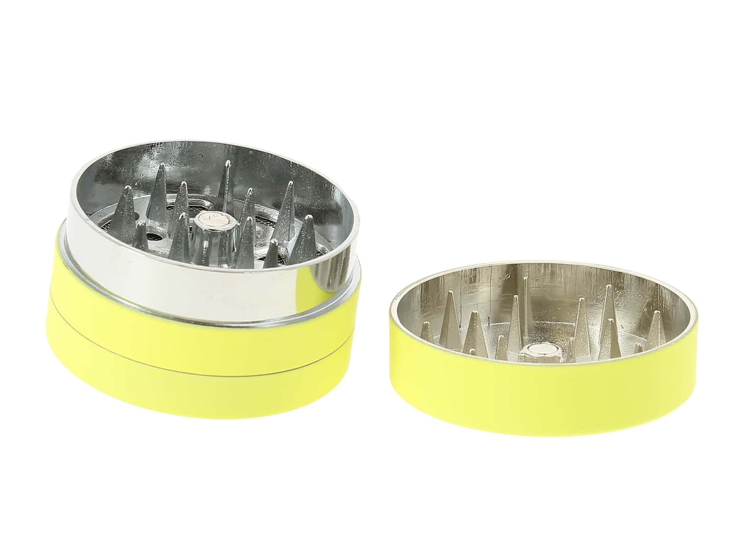 Photo #2 de Grinder Jaune Soft Touch 3 parties 40mm