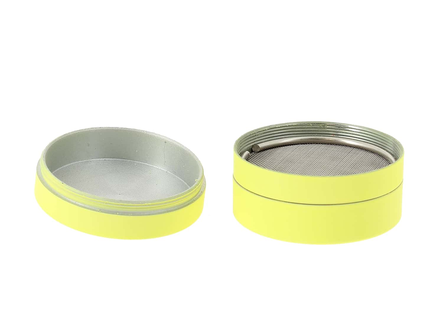 Photo #3 de Grinder Jaune Soft Touch 3 parties 40mm