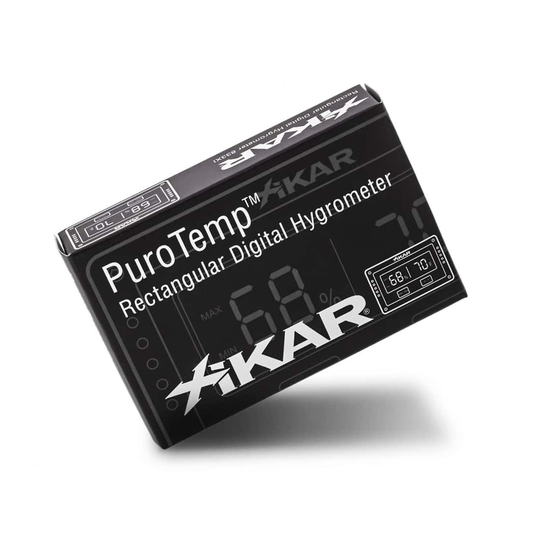 Photo #2 de Hygromètre Xikar PuroTemp Rectangulaire