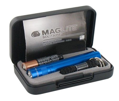 Photo #1 de Lampe Maglite Solitaire bleu