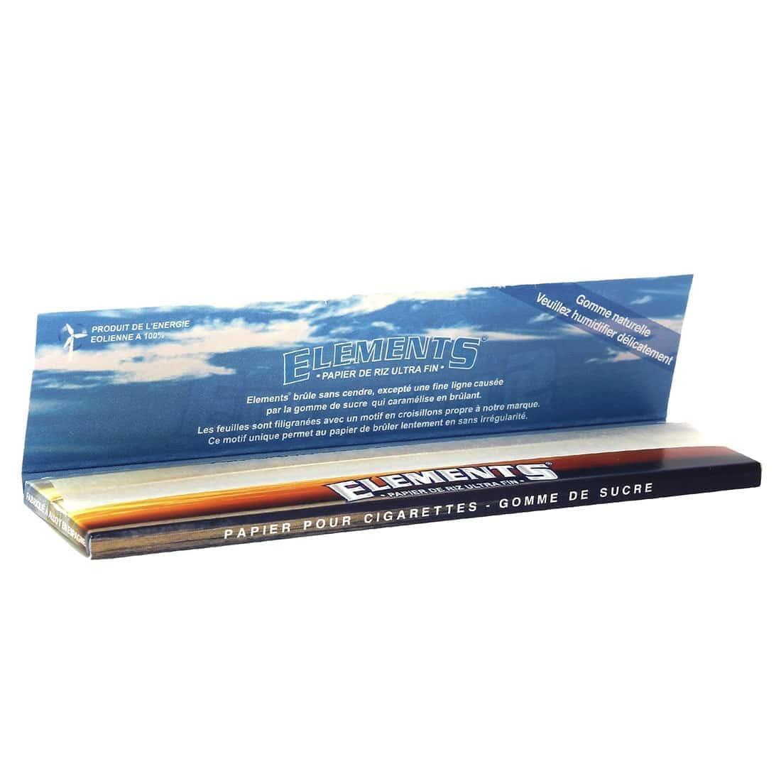 Photo #3 de Pack Elements Feuilles Slim Filtres Carton