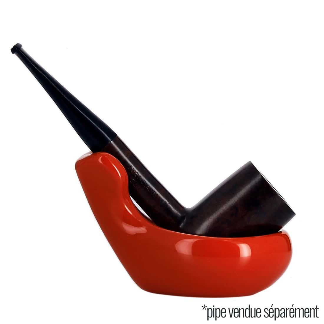 Photo #4 de Pack Fumeur de Pipe Céramique Rouge