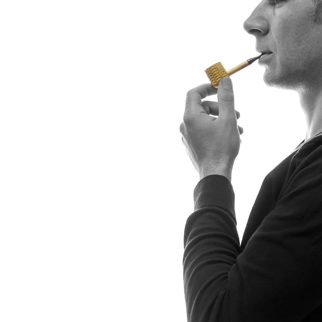 Photo #1 de Pack Fumeur de Pipe Maïs Missouri Noir