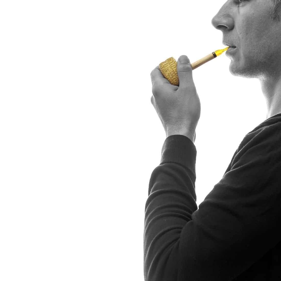 Photo #1 de Pack Fumeur de Pipe Maïs Missouri Orange