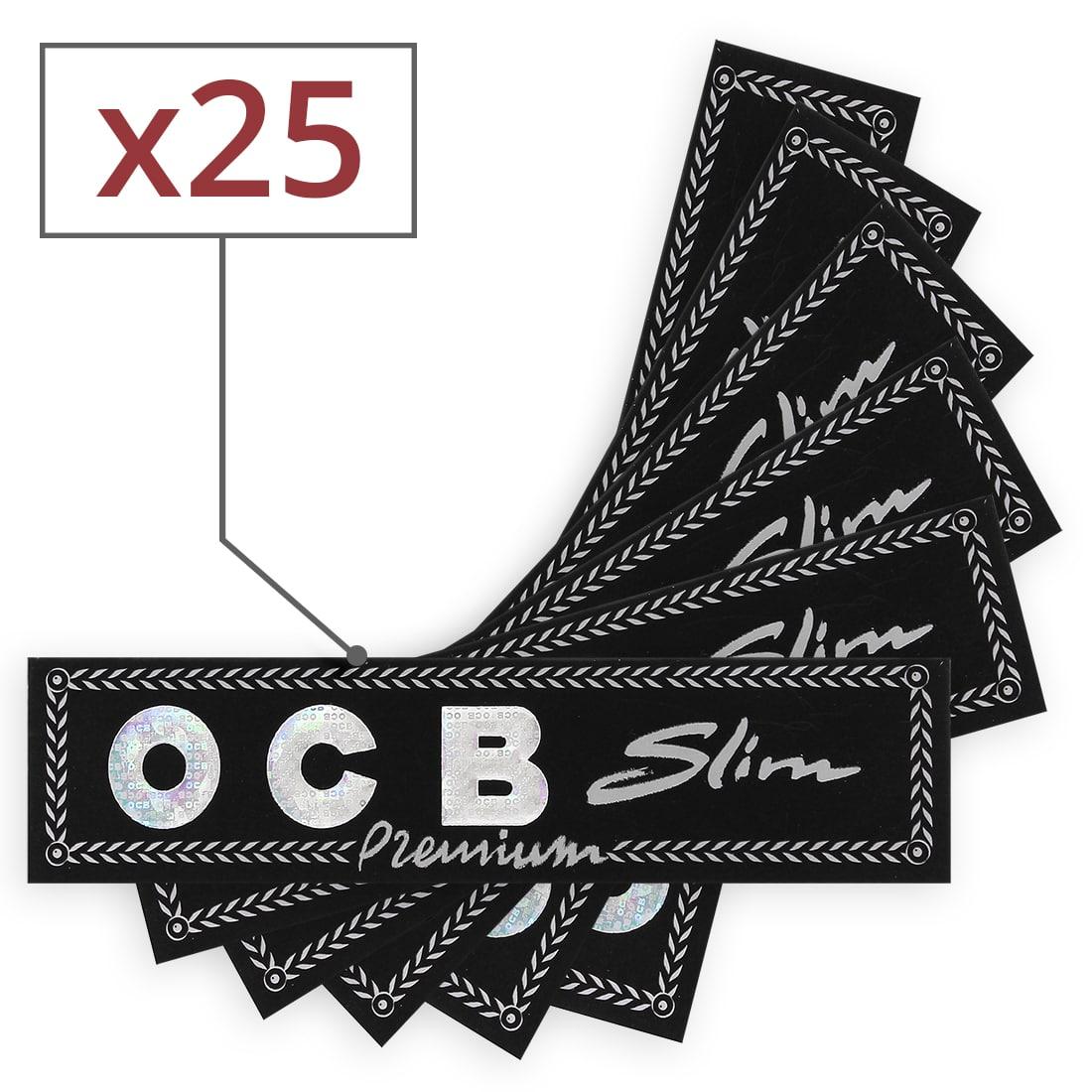 Photo #1 de Pack OCB Feuilles Slim Filtres Carton