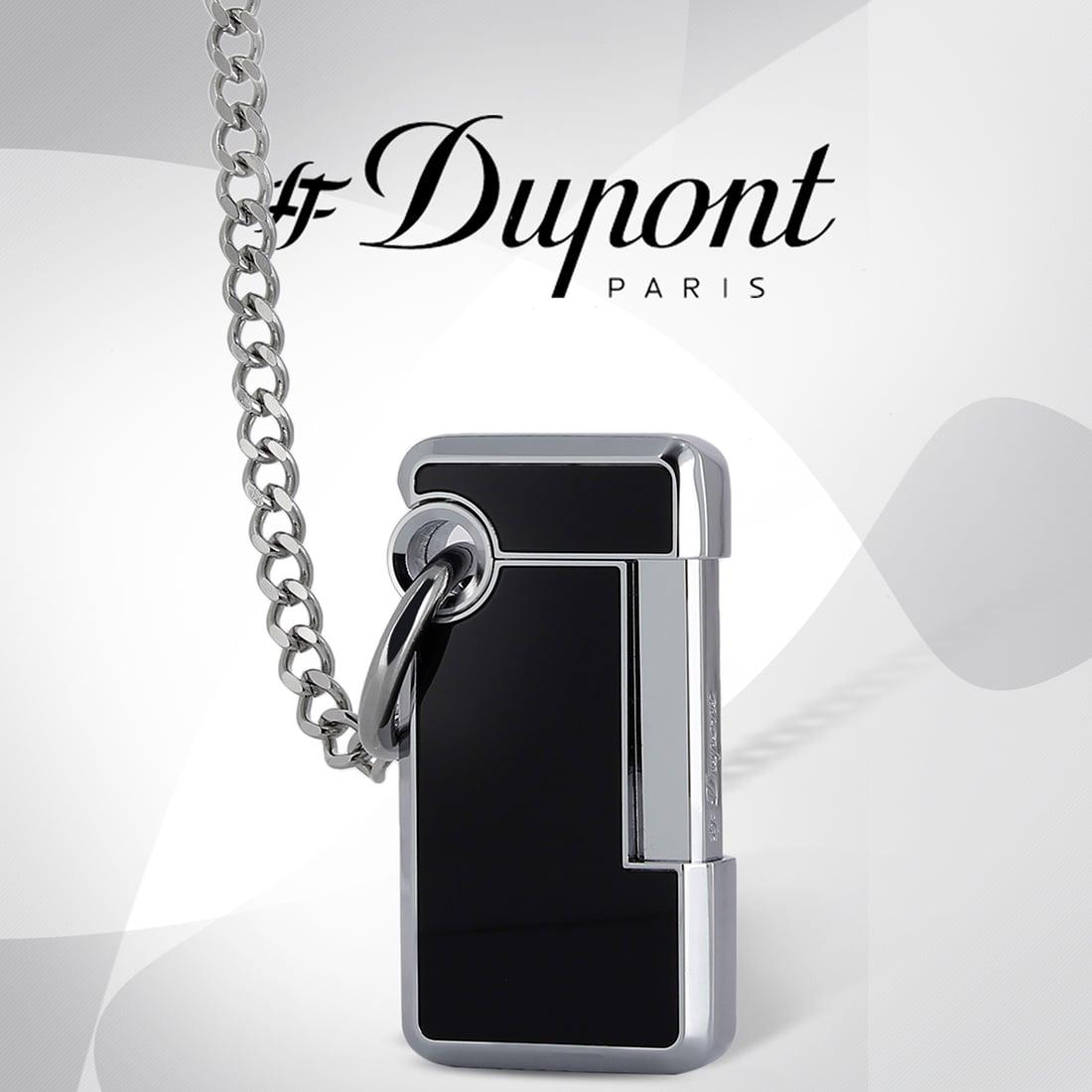 Photo #4 de Pack S.T. Dupont Hooked Chromé Brossé