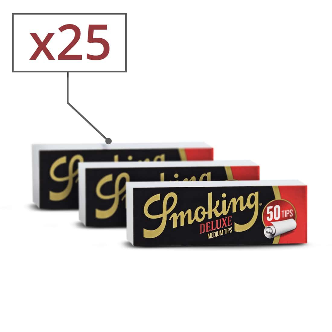Photo #1 de Pack Smoking Feuilles Slim Brown Filtres Carton