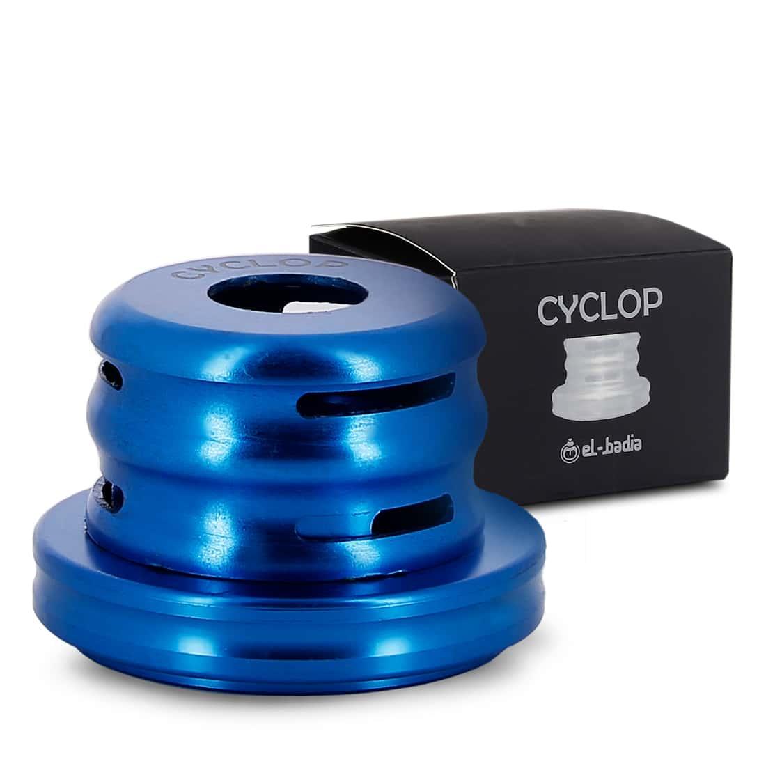 Photo #1 de Pack Système de chauffe Cyclop Bleu et Foyer Terre Cuite