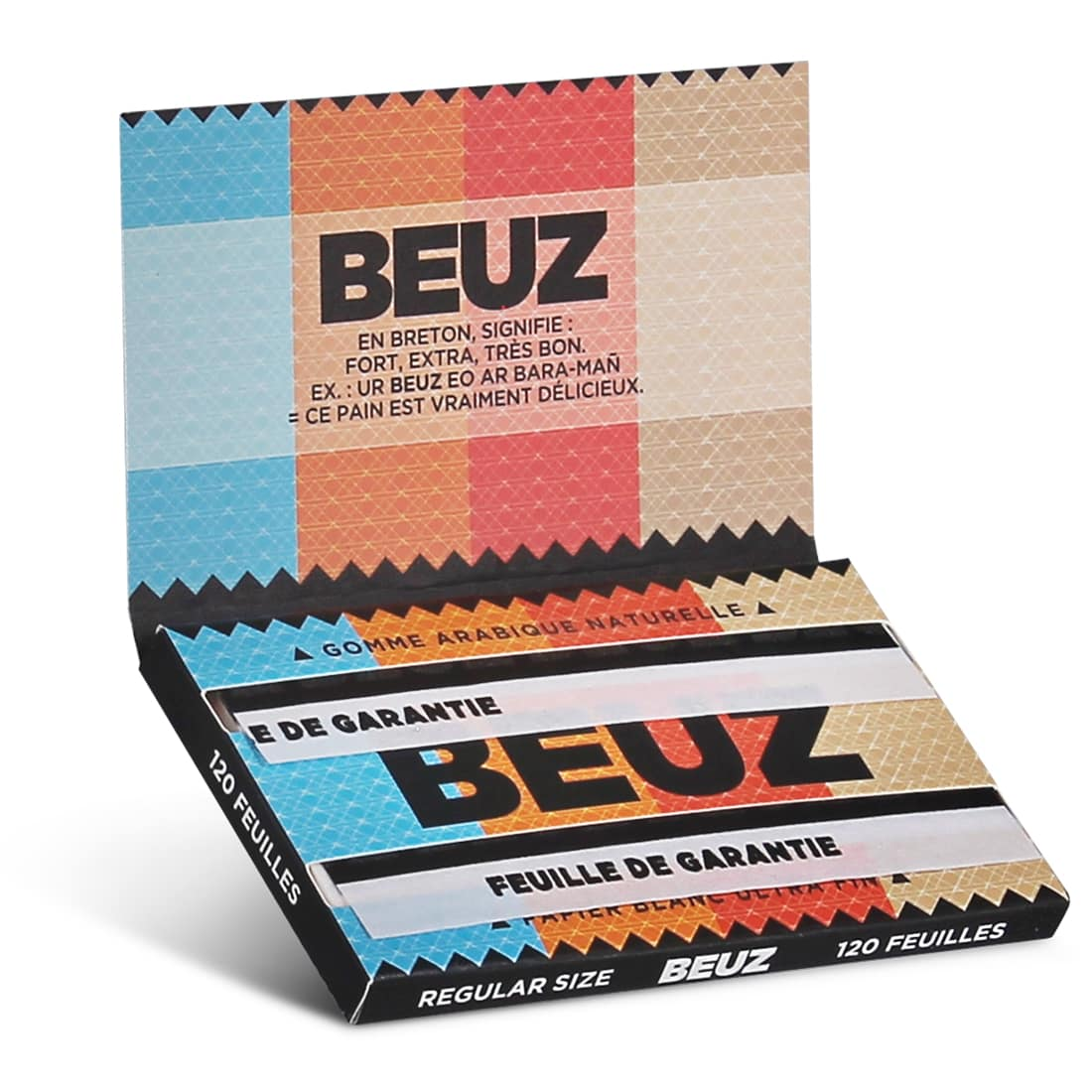Photo #1 de Papier a rouler Beuz Regular x10