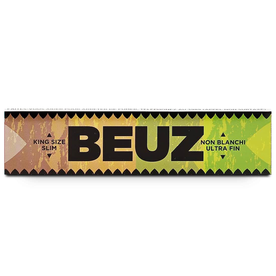 Photo #1 de Papier a rouler Beuz Slim Brown x50