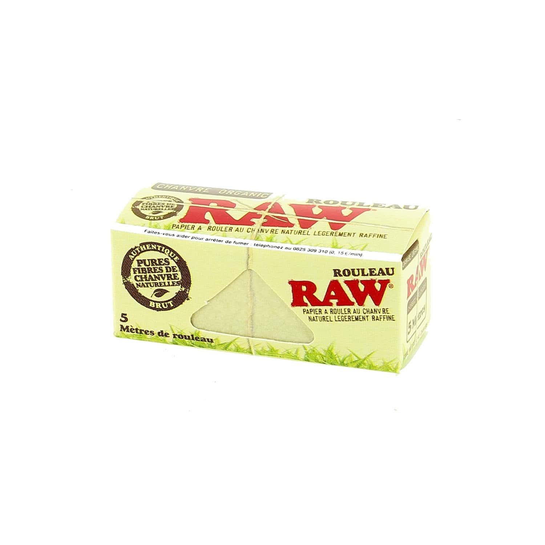 Photo #1 de Papier à rouler Raw Rolls Organic X 24