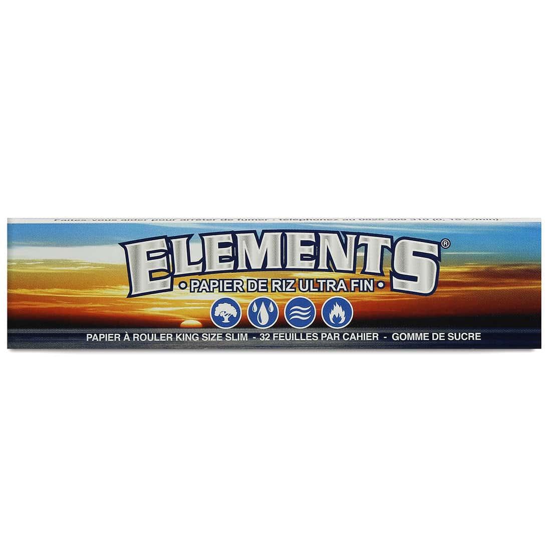 Photo #2 de Papier à rouler Elements Slim x 50