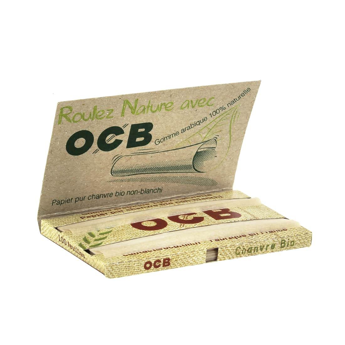 Photo #1 de Papier à rouler OCB Chanvre Bio x 10