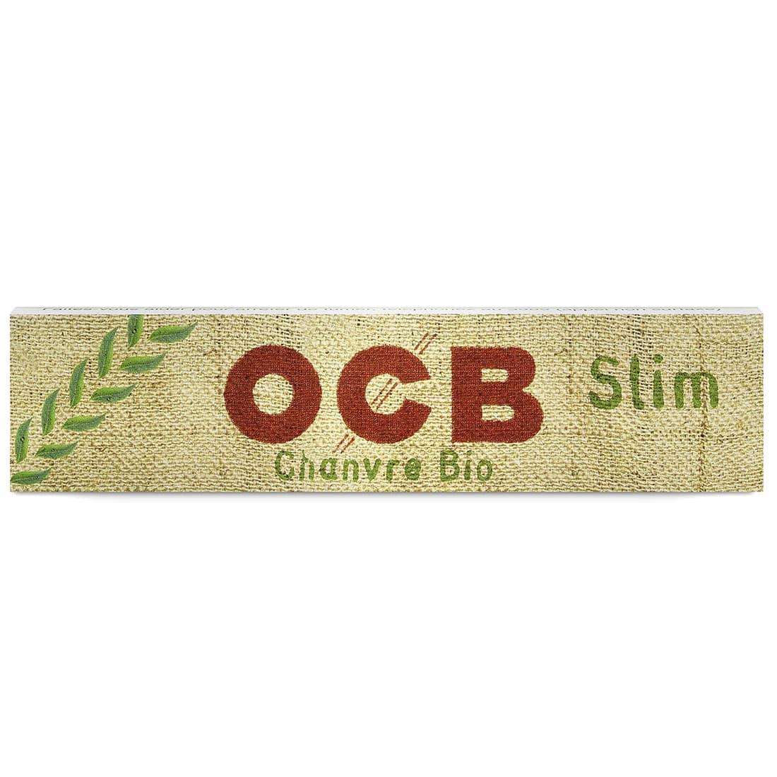 Photo #2 de Papier à rouler OCB Slim Chanvre Bio x 50 PACK de 3