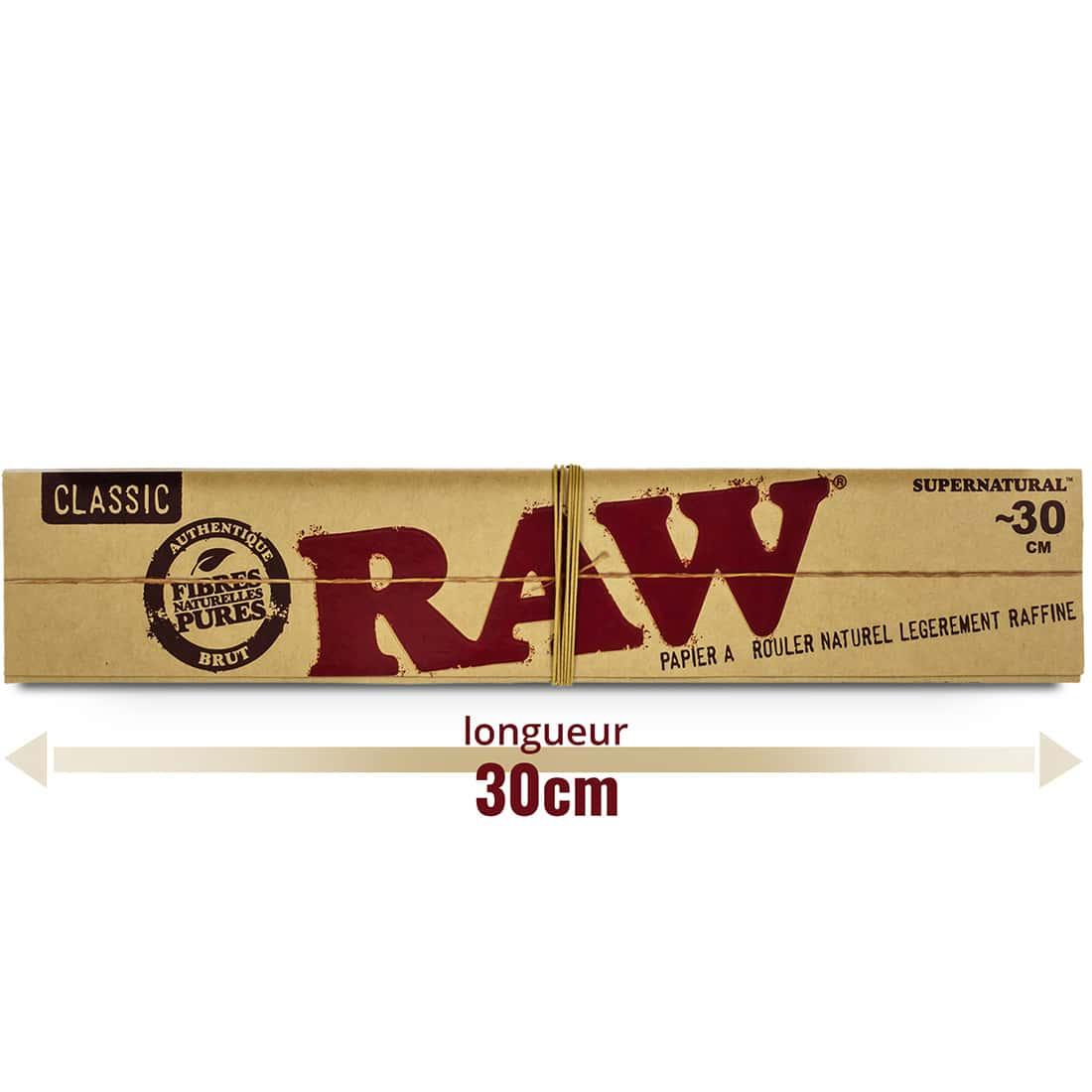 Photo #3 de Papier à rouler Raw Mega Longue x 20
