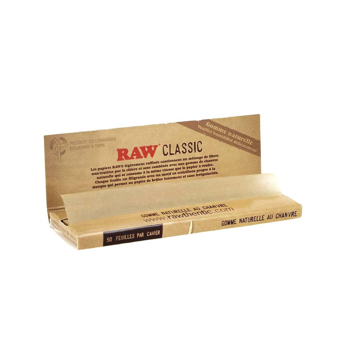 Photo #1 de Papier a rouler Raw Simple Tirage x 50