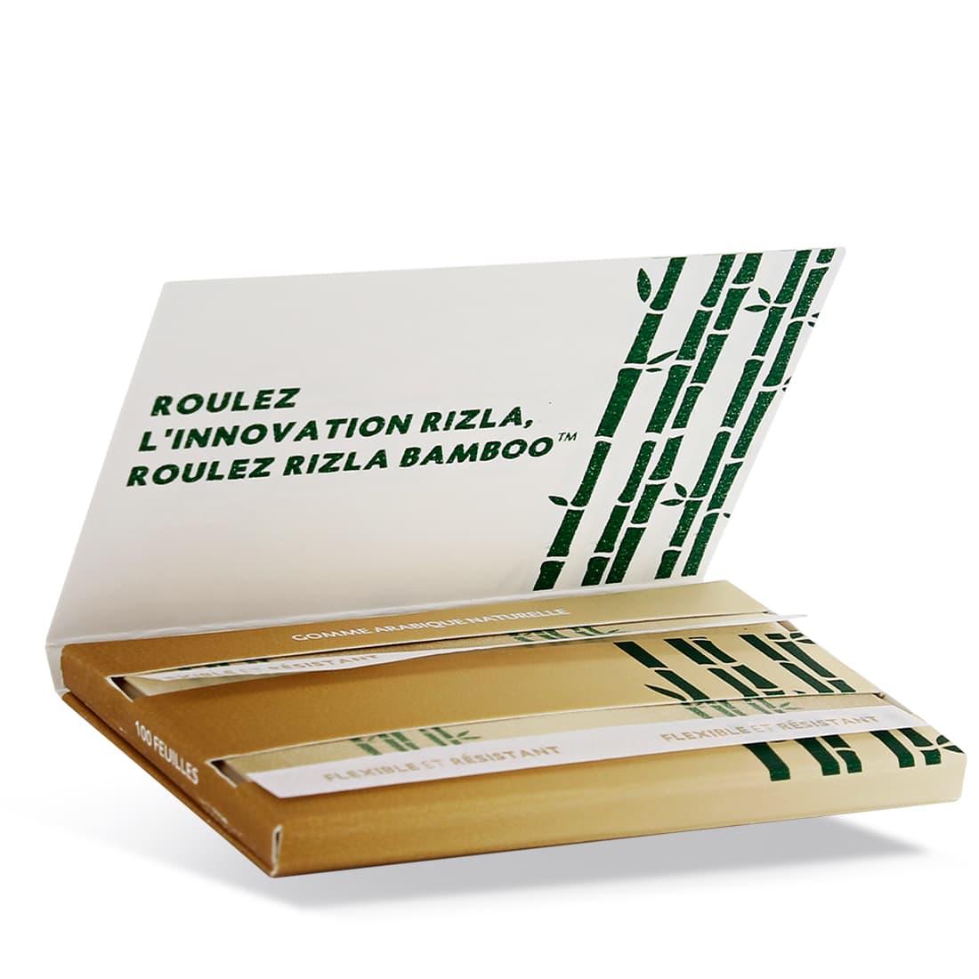 Photo #1 de Papier à rouler Rizla + Bamboo x 10