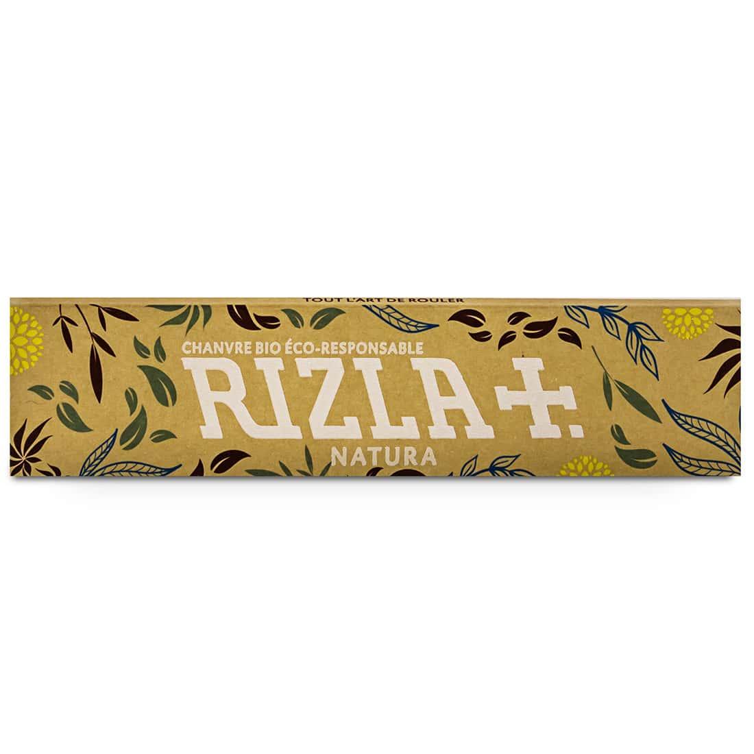 Photo #2 de Papier à rouler Rizla + Natura Slim x 50 Pack de 3