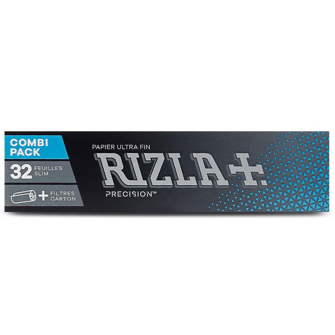 Photo #2 de Papier à rouler Rizla + Precision Slim et Tips x 24