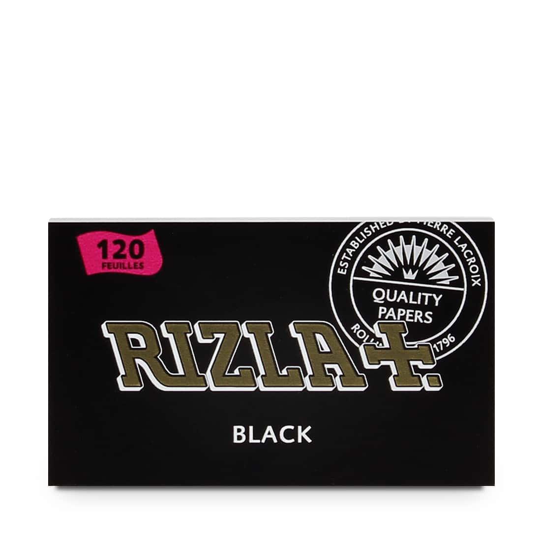 Photo #2 de Papier à rouler Rizla Black double x 25