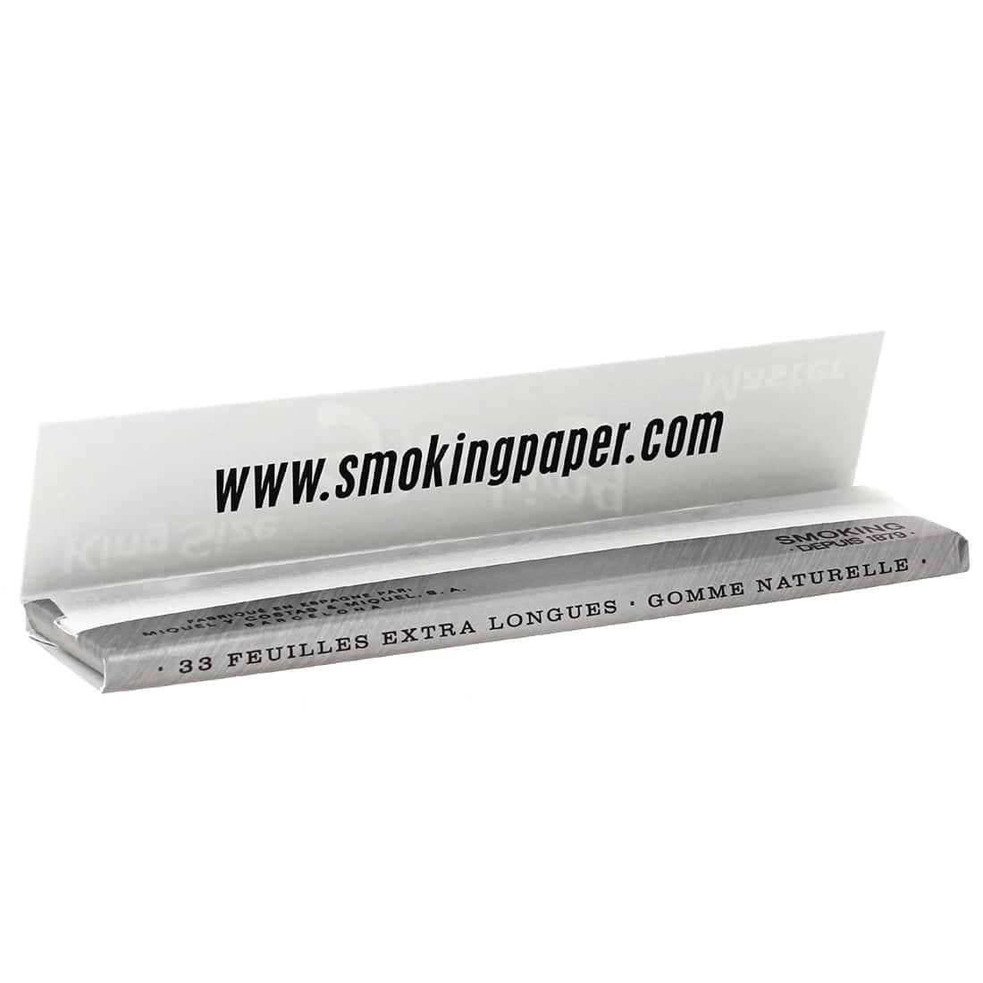 Photo #1 de Papier à rouler Smoking KS Master x50 PACK de 3