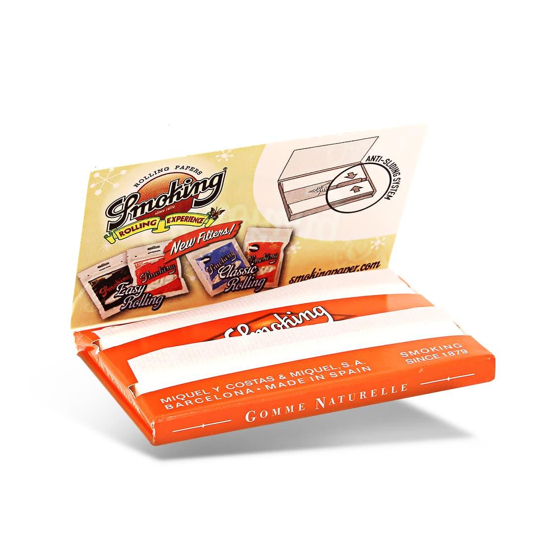 Photo #1 de Papier à rouler Smoking Orange Regular x 25