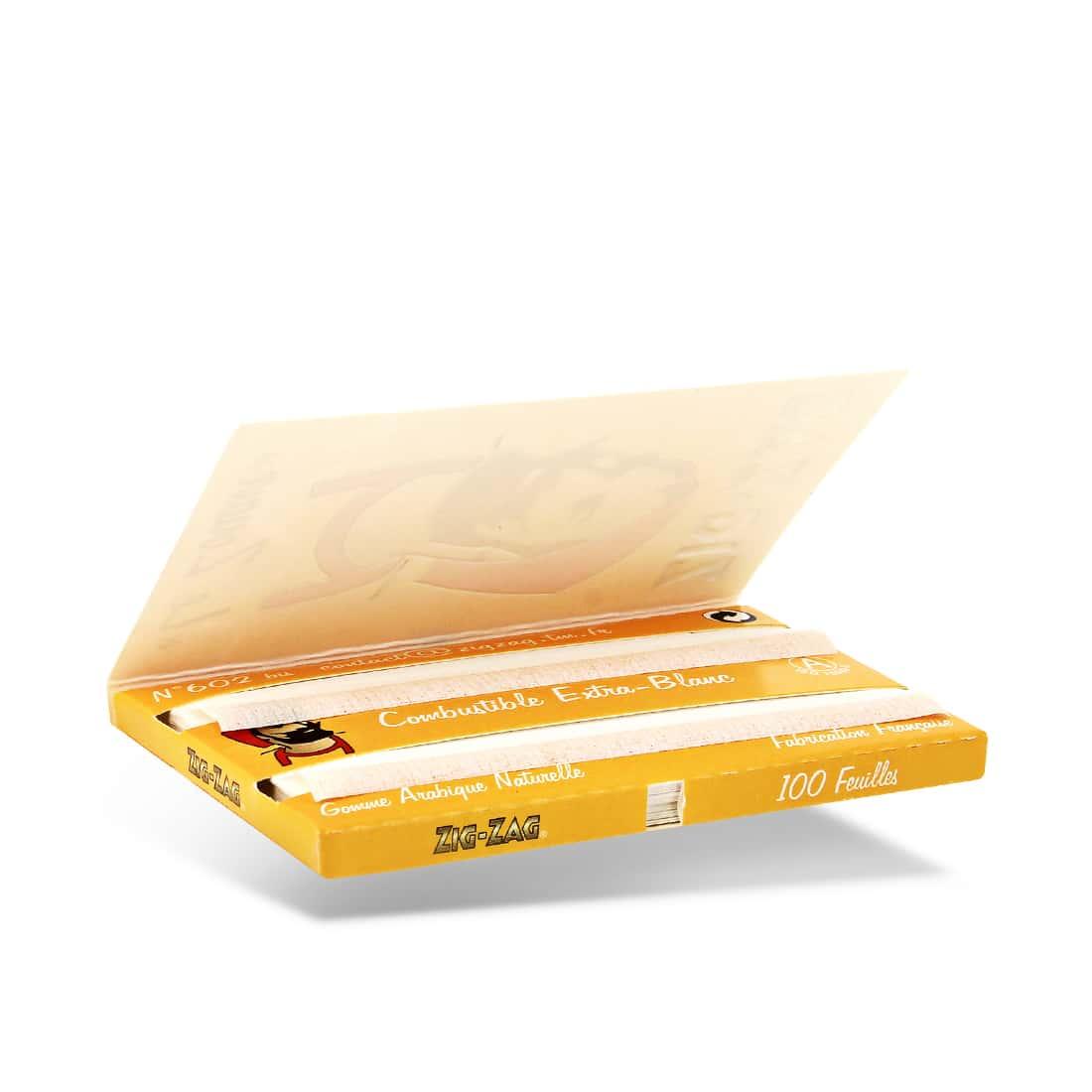 Photo #1 de Papier à rouler Zig Zag jaune x10