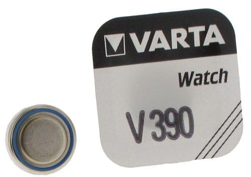 Photo #1 de Pile Oxyde d'Argent Varta V390