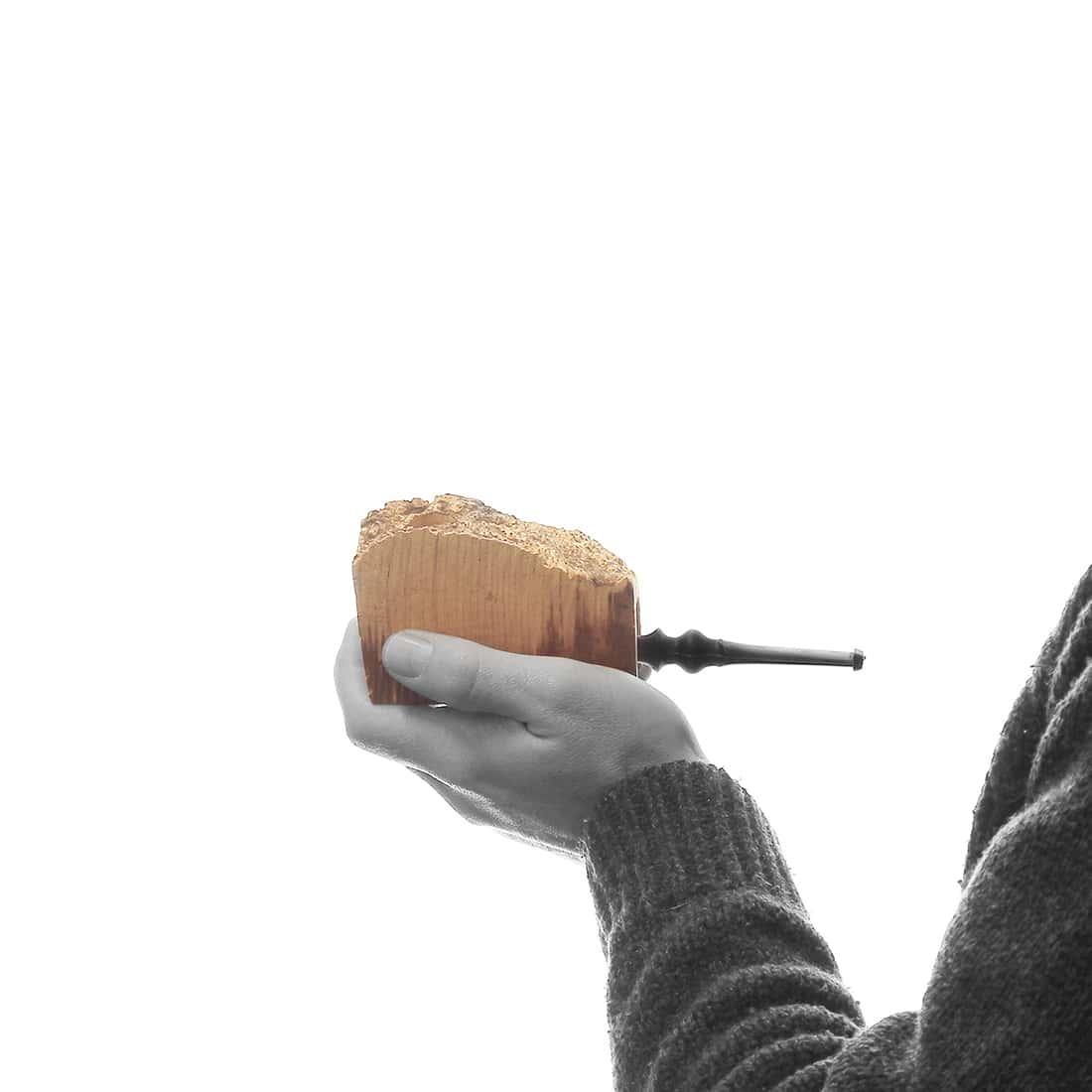 Photo #1 de Pipe croute de bruyère droite
