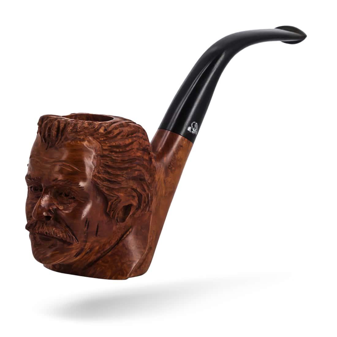 Photo #2 de Pipe de Cogolin Sculptée Brassens