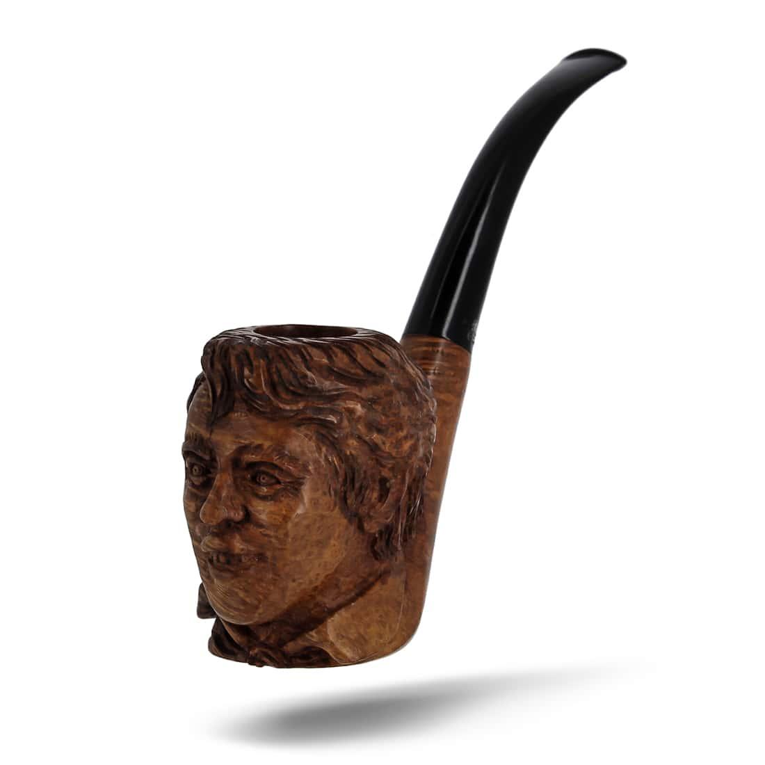 Photo #2 de Pipe de Cogolin Sculptée Brel