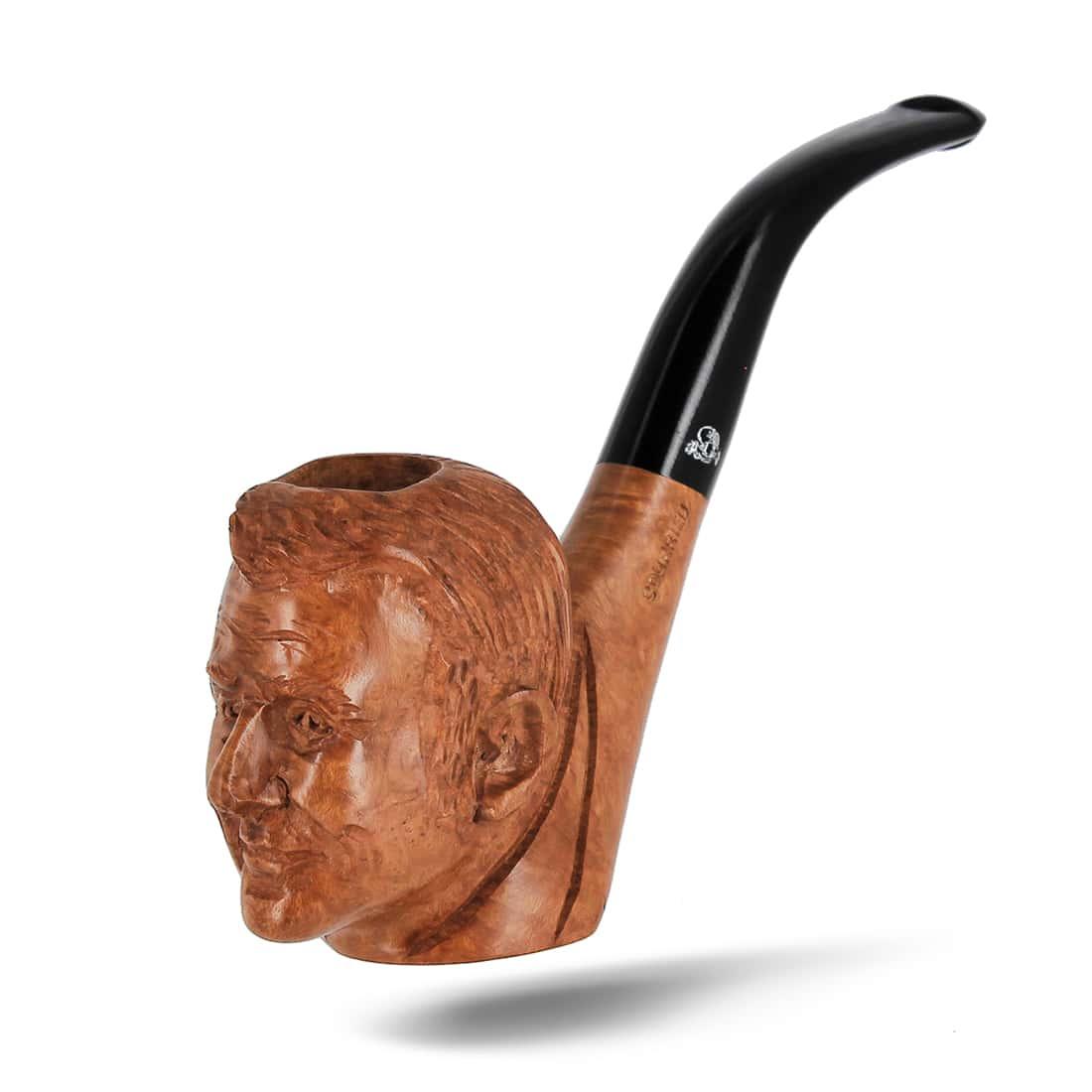 Photo #2 de Pipe de Cogolin Sculptée Macron