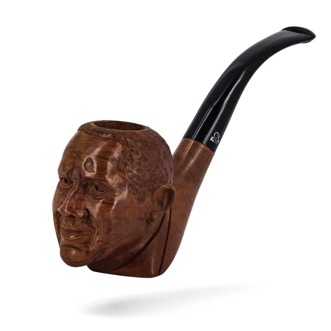 Photo #2 de Pipe de Cogolin Sculptée Obama
