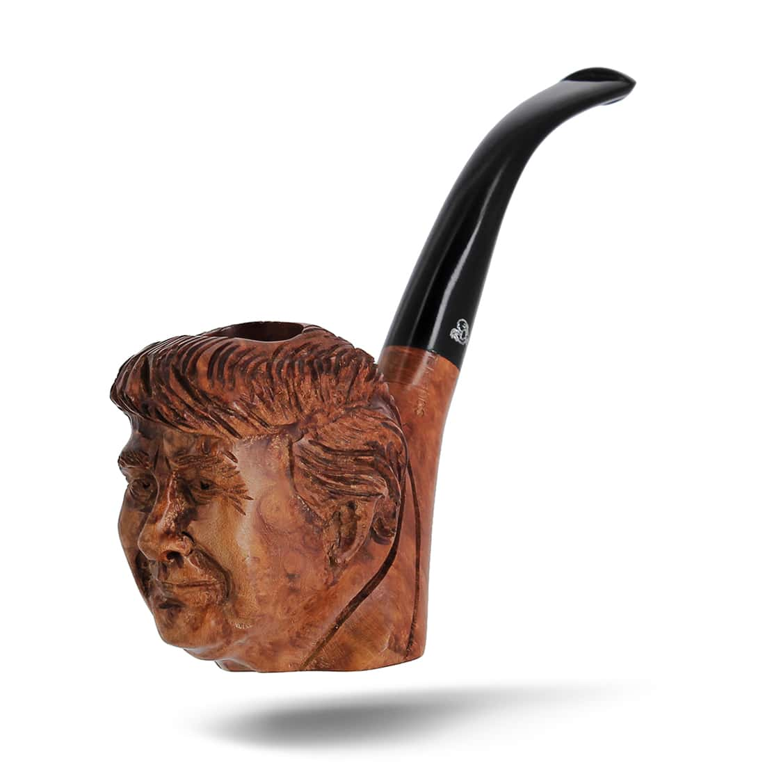 Photo #2 de Pipe de Cogolin Sculptée Trump