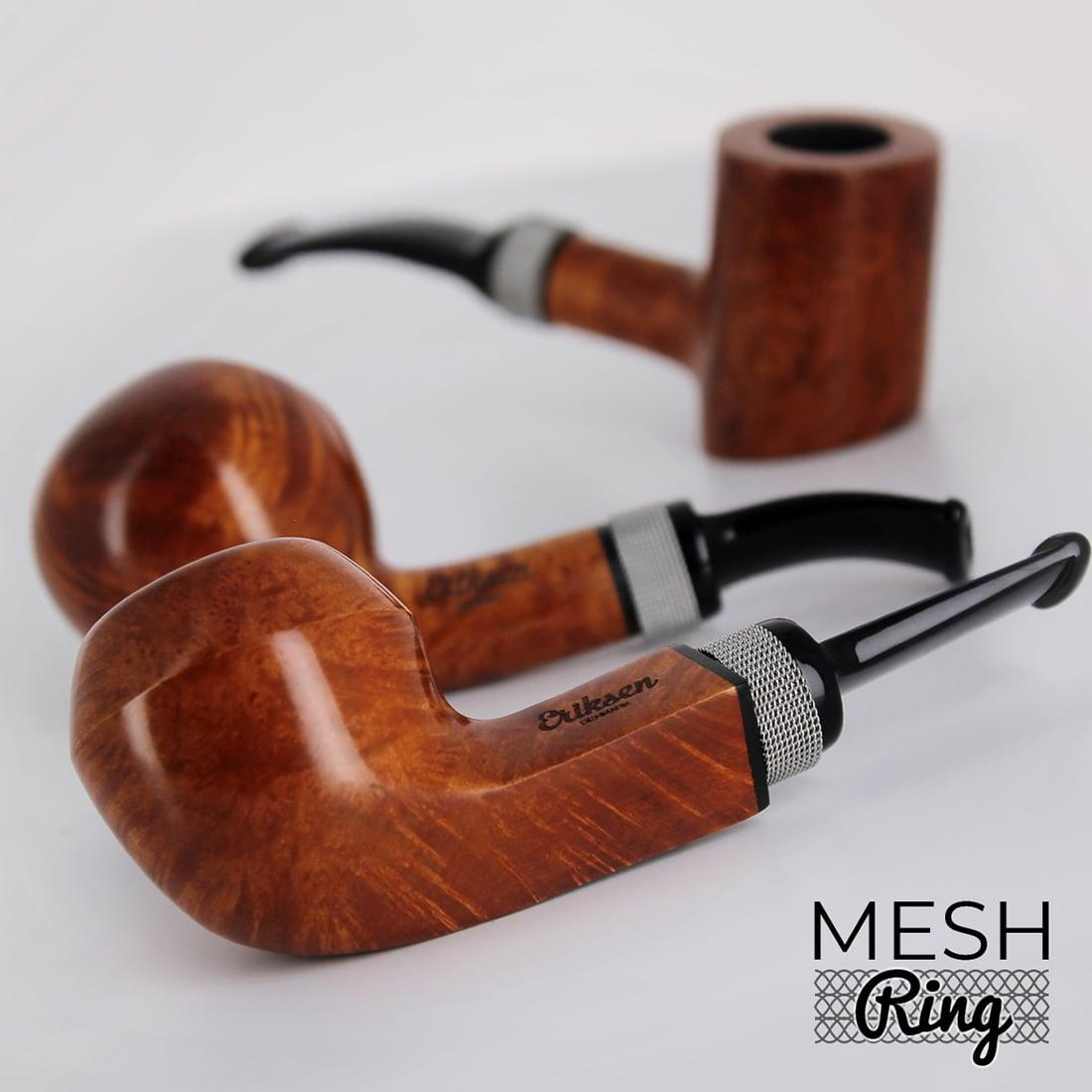 Photo #3 de Pipe Nording Eriksen Mesh Ring Courbée Noire