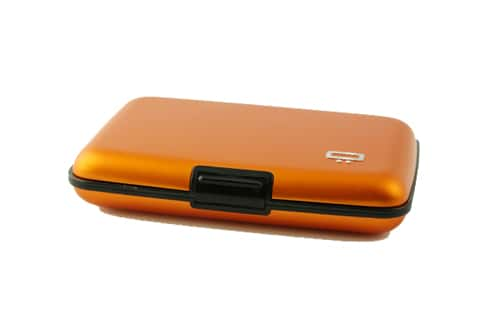 Photo #2 de Etui porte cartes Ogon Stockholm Orange
