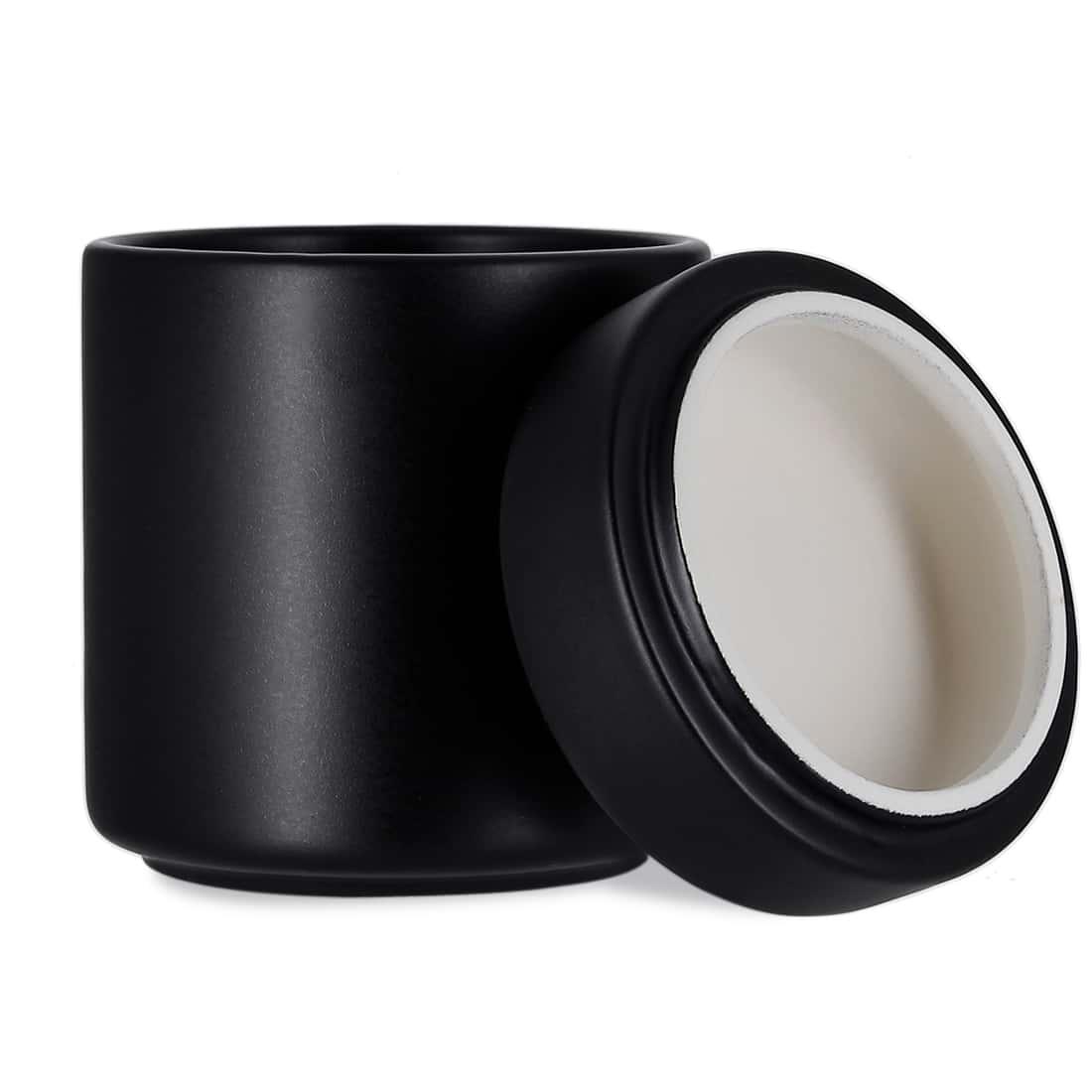 Photo #2 de Pot à tabac Céramique Noir et Humidificateur Crédo