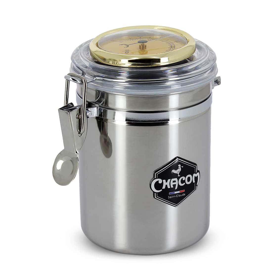 Photo #3 de Pot à tabac Chacom Inox Grand Modèle