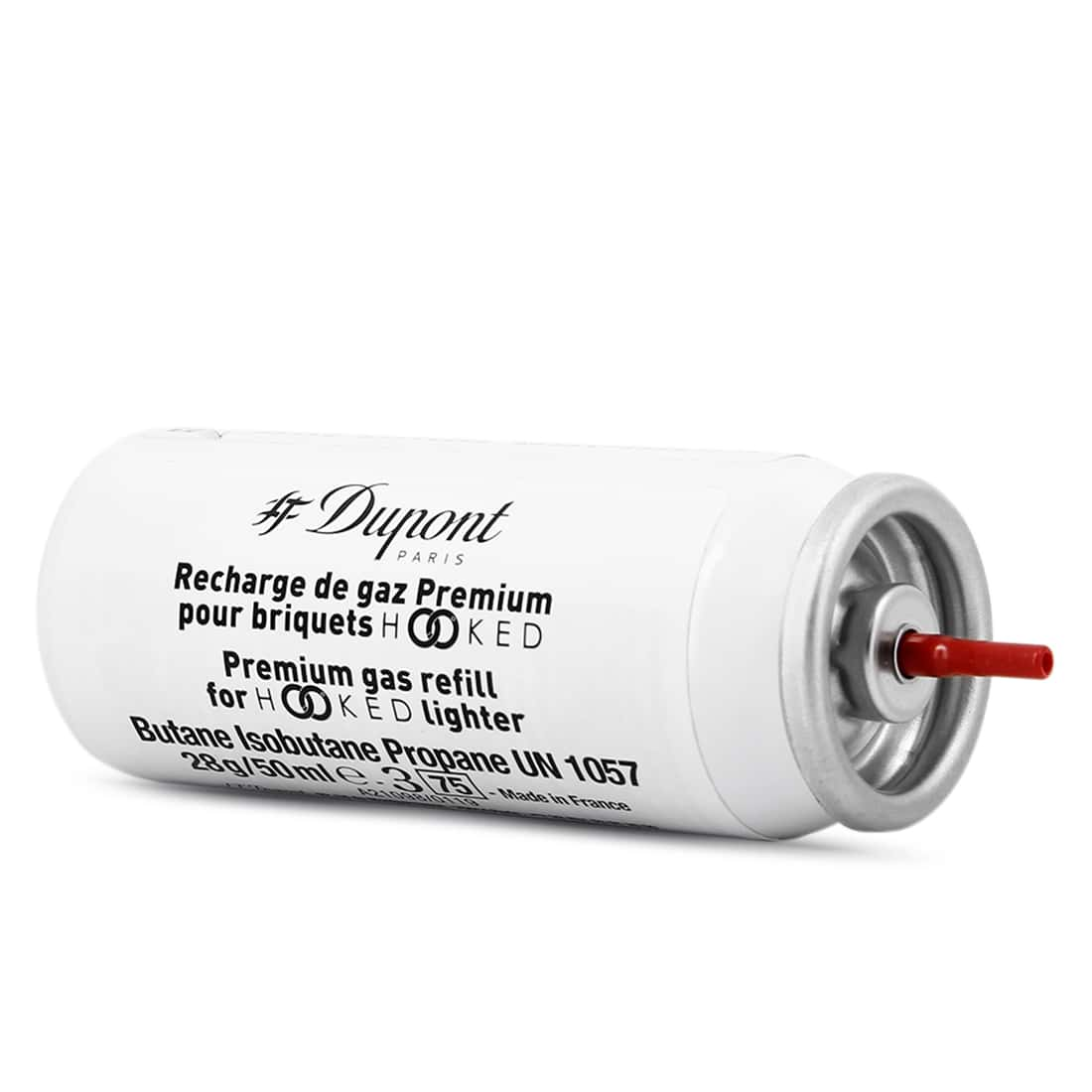 Photo #1 de Recharge gaz blanche premium S.T. Dupont 444 x2